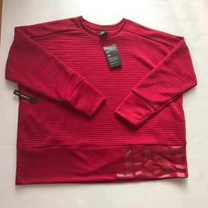 Nike Just Do It Dri-Fit Long Sleeve Tee Size XL